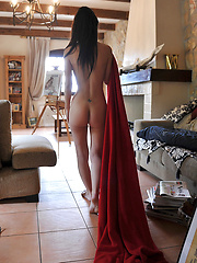 Hottest young model in solo erotic session - Pics