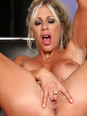 The sexy Puma Swede fingers her little pussy and shows her tight asshole. - Pics