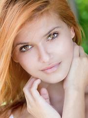 Very sexy redhead girl Viola