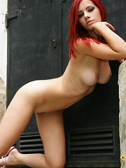 Big breasts scream to be touched and a thin line of pussy hair lead to treasure. - Pics