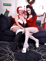 Santas Naughty Girls Pics - Jessica Jaymes and Sophie Dee