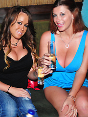 Tory Black in public partying and drinking with friends - Pics