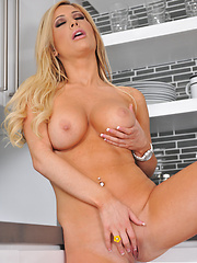 Tasha Reign strips and teases her own pussy - Pics