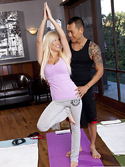 Tasha Reign has sex with her workout instructor - Pics