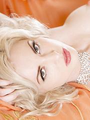 Hot blond Playboy pet Carissa White