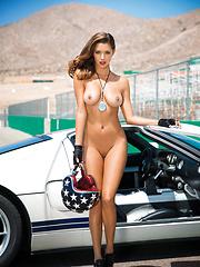 Gentlemen, start your engines for Alyssa Arcè, Playboy Miss July 2013 - Pics