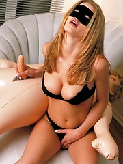 Chantelle Fontain - has a good time with a doll