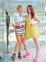 Lena and Melody Public Fun