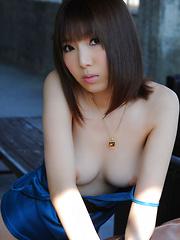 Kurara Horie Asian shows such appetizing butt and lustful assets - Pics
