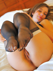 Arianna in stockings heels and lingerie - Pics