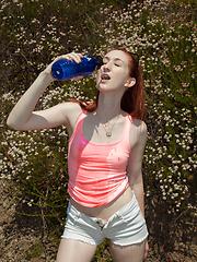 Haley Gladwell Strawberry Bottom