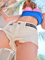 Anya Busting Out - Pics