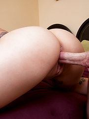 Jessie Lee rides a hard cock