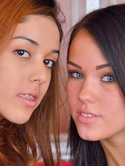 Megan and Sophia Mutual Exploration - Pics
