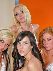 Super hot amazing molly and long leg erin bang their sweet pussies in these hot 4 girl sex update movie and pics - Pics