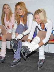Meg and nikki go iceskatin for some hot lesbo chik to take back to the pad in these fun n sexy mixed set pics vids