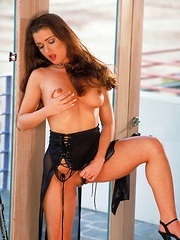 Marika - is a sexy european brunette with a gorgeous face