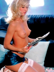 Janine - in a classic set from the 90s - Pics