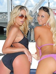 Come check out marlie and mollly on this yacht in these amazing lesbian movies n pics - Pics