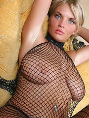 Ines in fishnets