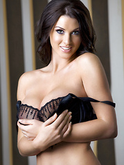 Busty glamour model Alice Goodwin's debut